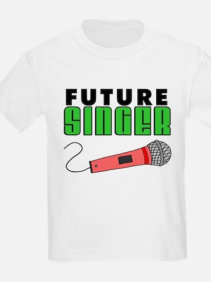 Future Singer Pink Microphone T-Shirt