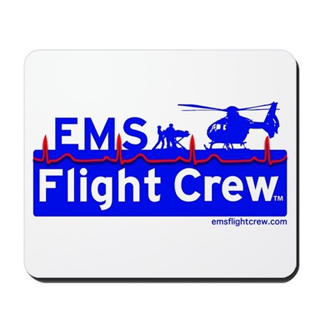 EMS Flight Crew - (new design front & back) Mousep
