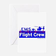 EMS Flight Crew - (new design front & back) Greeti