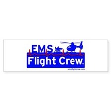 EMS Flight Crew - (new design front & back) Sticke