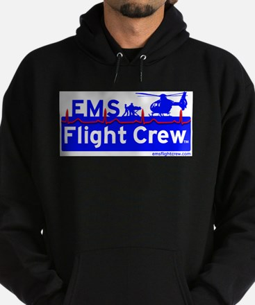 EMS Flight Crew - (new design front & back) Hoodie