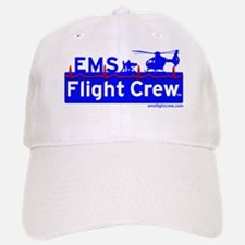EMS Flight Crew - (new design front & back) Baseball Baseball Cap
