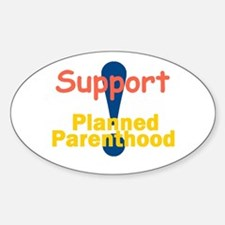 Planned Parenthood Sticker (Oval)
