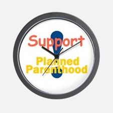 Planned Parenthood Wall Clock