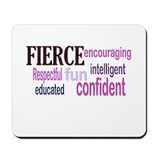 FIERCE Wordle Mousepad