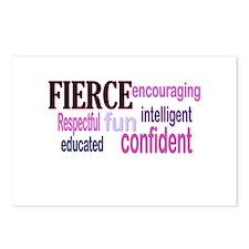 FIERCE Wordle Postcards (Package of 8)