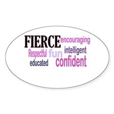 FIERCE Wordle Decal