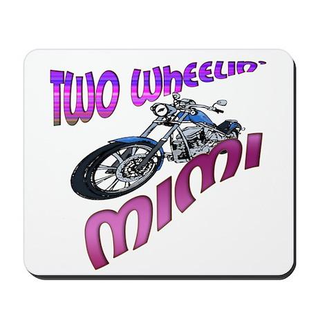 TWO WHEELIN' MIMI Mousepad