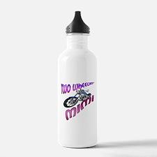 TWO WHEELIN' MIMI Water Bottle