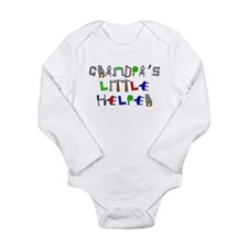 Funny Boy Long Sleeve Infant Bodysuit