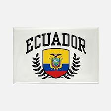 Ecuador Rectangle Magnet