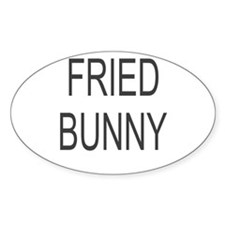 Fried Bunny Decal