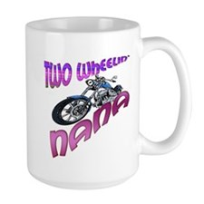 TWO WHEELIN' NANA Mug