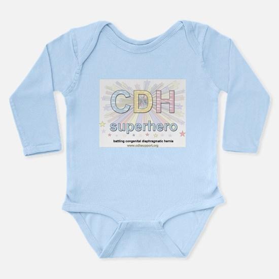 CDH Superhero Long Sleeve Infant Bodysuit