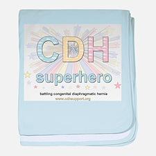 CDH Superhero baby blanket