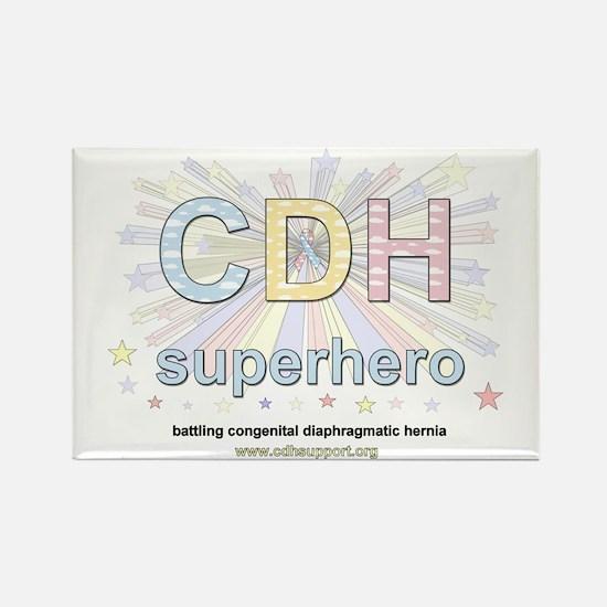 CDH Superhero Rectangle Magnet