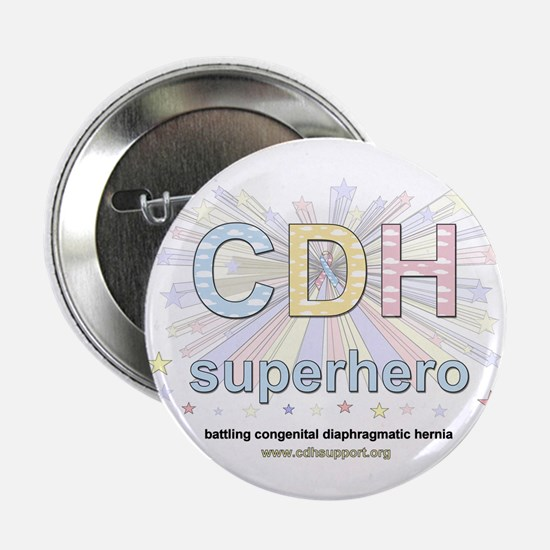 """CDH Superhero 2.25"""" Button"""