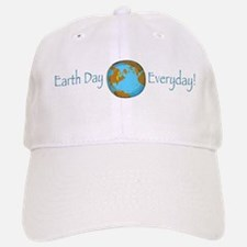 Earth Day is Everyday Baseball Baseball Cap