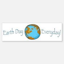 Earth Day is Everyday Bumper Bumper Bumper Sticker