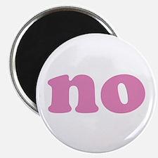 "No 2.25"" Magnet (100 pack)"