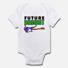 Future Bassist Blue Bass Onesie