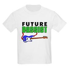 Future Bassist Blue Bass T-Shirt
