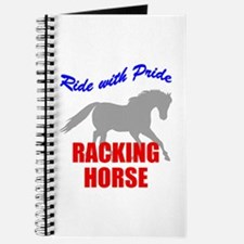 Ride With Pride Racking Horse Journal