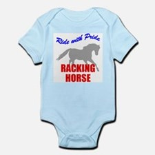 Ride With Pride Racking Horse Infant Creeper