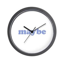 Maybe Wall Clock