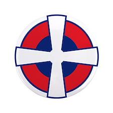 """Serbia Roundel 3.5"""" Button"""