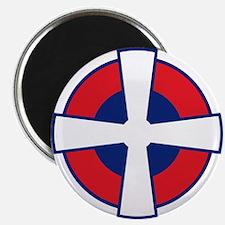"Serbia Roundel 2.25"" Magnet (10 pack)"