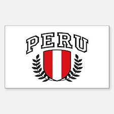 Peru Decal