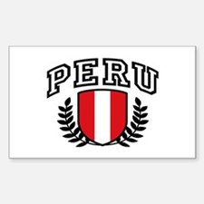 Peru Sticker (Rectangle)