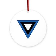Estonia Roundel Ornament (Round)