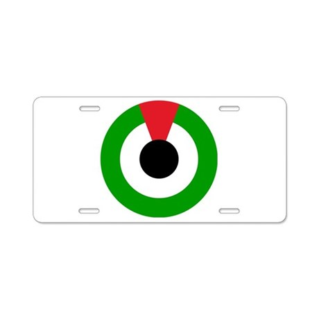 UAE Roundel Aluminum License Plate