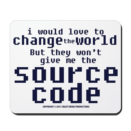Source Code Mousepad