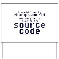 Source Code Yard Sign