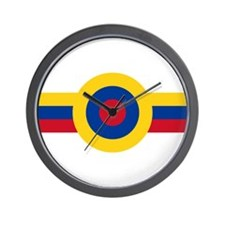 Venezuela Roundel Wall Clock