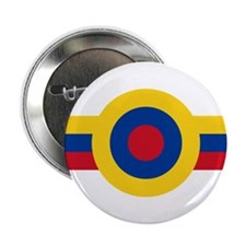 "Venezuela Roundel 2.25"" Button"