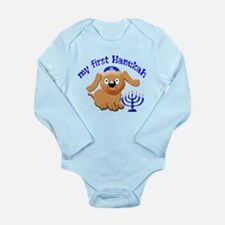 baby's first Hanukah Onesie Romper Suit