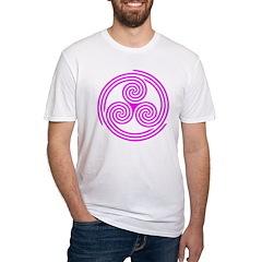 Triple Spiral Triskelion Shirt