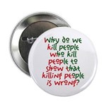 Why Do We Kill People... Button
