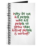 Why Do We Kill People... Journal