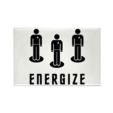 Energize! Rectangle Magnet