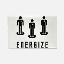 Energize! Rectangle Magnet