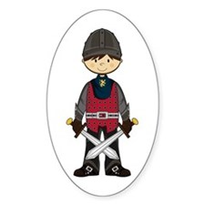 Cute Medieval Knight Decal