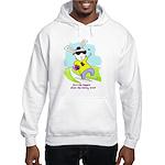 Hip Easter Bunny Hooded Sweatshirt