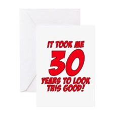 Cute 30th birthday Greeting Card