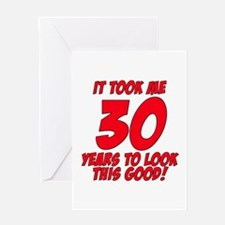 Funny Thirty Greeting Card