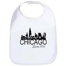Someone in Chicago Loves Me S Bib
